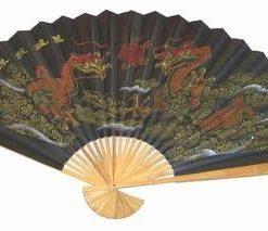 Evantai Feng Shui cu Dragonii Ceresti
