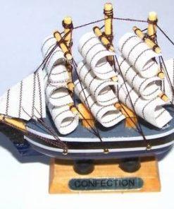 Corabia Abundentei din lemn - remediu Feng Shui