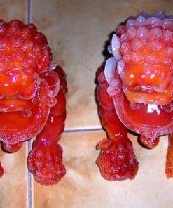 Cainii Fu din jad sintetic - remediu Feng Shui XXL