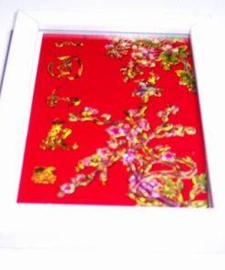 Tablou Feng Shui cu flori de prun - model deosebit!