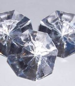 Pietrele dorintei transparente din cristal industrial