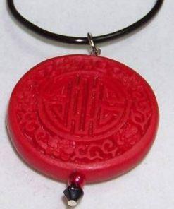 Pandantiv Feng Shui cu Simbolul Sanatatii si Norocului