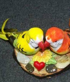 Papagalii dragostei - remediu Feng Shui