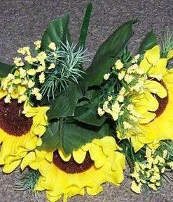Buchet de floarea soarelui - remediu de bogatie si succes