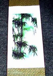Pergament din matase, cu bambusul succesului