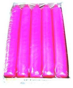 Set de 10 lumanari roz - ritual de dragoste