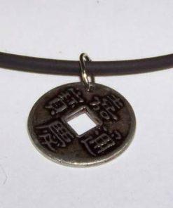 Moneda bunastarii pe siret siliconat cu argint - unicata