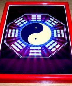 Mandala Feng Shui cu Trigrame, Bagua si Yin-Yang
