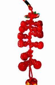 Canaf Feng Shui cu 11 Wu Lou-uri rosii - remediu de sanatate