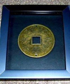Tablou Feng Shui cu moneda chinezeasca
