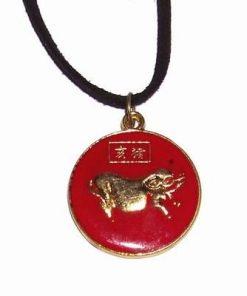 Talisman Feng Shui din metal pentru zodia Porc
