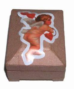 Cutie de carton cu ingeras