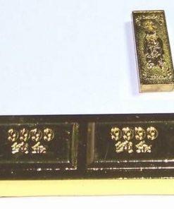 Lingou auriu cu zeitate de protectie pentru noroc in afaceri