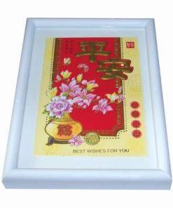 Tablou Feng Shui cu bujorii dragostei, orhidee