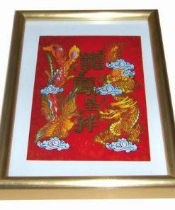 Tablou Feng Shui cu Dragonul  si Phoenix