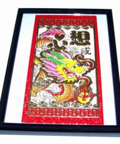Tablou Feng Shui cu Dragonul Norocului