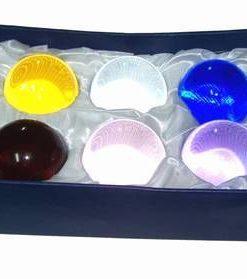 Set de sase sfere colorate