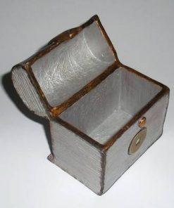 Cufarul Bogatiei cu moneda Feng Shui pentru elementul Metal