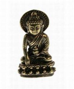 Amithayus - Buddha Vietii Lungi - ministatuie din alama