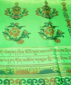 Esarfa Feng Shui din tibet cu cele 8 simboluri norocoase