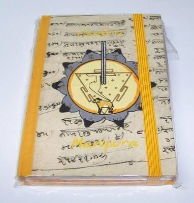 Agenda pentru notite - chakra Manipura - mica