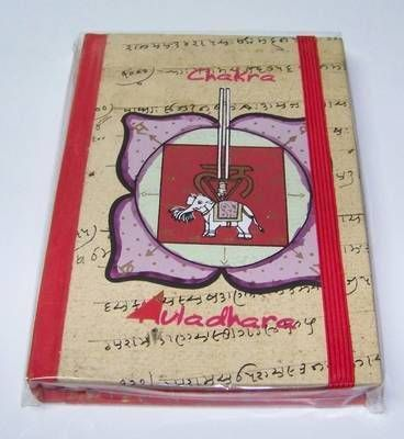 Agenda pentru notite - chakra Muladhara - mica