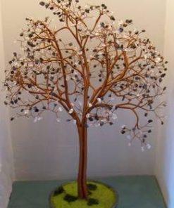 Copacel Feng Shui cu cristale de hematit + cristal de stanca