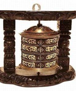 Morisca dorintelor cu mantra Om-Mani-Padme-Hum, in suport