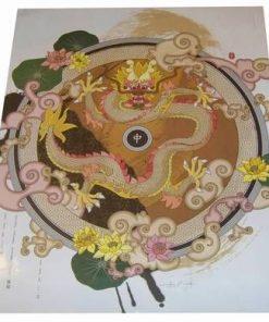 Dragonul Galben - afis xl