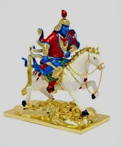 Lordul Kubera pe calul alb -  din metal - Steaua 3
