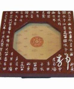 Tablou Feng Shui din lemn - maro - pentru casa/firma