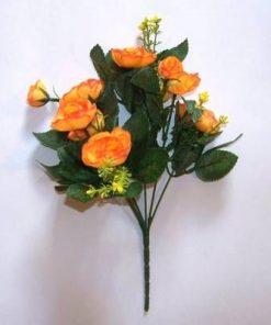 Buchet de bujori portocalii