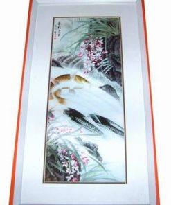Tablou Feng Shui cu 4 pesti - pentru casa