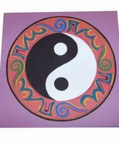 Mandala echilibrului pe toate planurile - pictata manual
