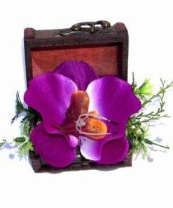 Cufar cu orhidee pentru fericire si noroc