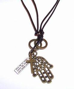Talisman Feng Shui Palma lui Fatima si cruce