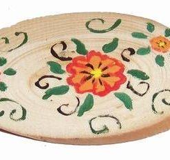Minitablou Feng Shui din lemn, lucrat manual