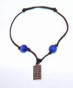 Bratara Feng Shui reglabila cu abac din metal