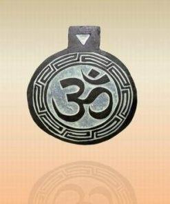 Tablou Feng Shui din onix cu simbolul Tao/Om