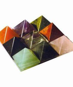 Remediu Feng Shui Vastu cu 9 piramide din cristal