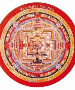Magnet de frigider - mandala Kalachakra