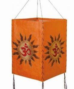 Lampadar Feng Shui de culoare portocalie - Tao/OM
