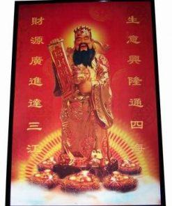 Zeul Bogatiei - tablou Feng Shui 3D - XXL
