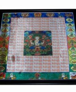 Tablou cu mandala - Buddha Tamaduitorul - XXL