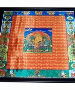 Mantra White Umbrella Godd - Buddha Protectorul - XXL