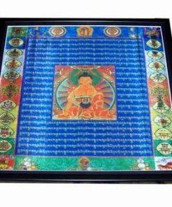 Mantra Manjushuri - Buddha Intelepciunii - XXL