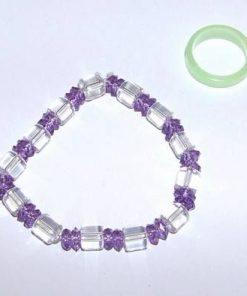 Set Feng Shui cu cristale de ametist industrial - Varsator