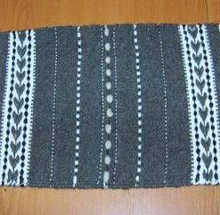 Covor din lana, lucrat manual