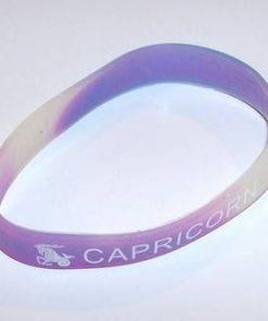 Bratara din silicon cu simbolul Capricornului1+1gratuit