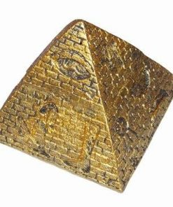 Piramida aurie din ceramica